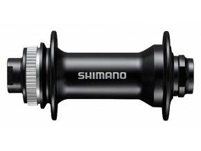 155930 naboj disc shimano hb mt400 32der center lock 15mm e thru axle 100mm predni cerny v krabicce
