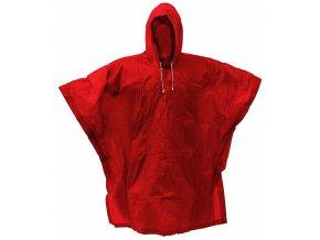 146570 plastenka pvc ponco cervena