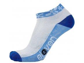 146111 ponozky eleven luca flover blue vel 2 4 s sv modre bile modre
