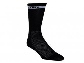 155426 ponozky lake socks cerne vel s 36 39