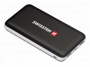 153761 powerbanka swissten black core slim 10 000 mah