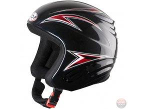 Juniorská Lyžařská Helma Cop černá (velikost: 50-51)