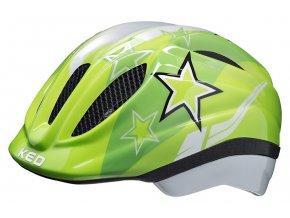 154886 prilba ked meggy m green stars 52 58 cm