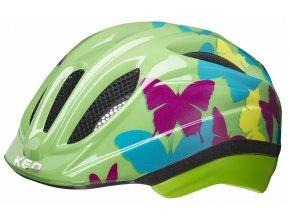 154847 prilba ked meggy trend m butterfly green 52 58 cm