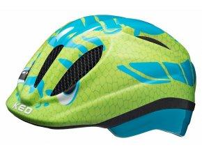 152690 prilba ked meggy trend m dino light blue green 52 58 cm
