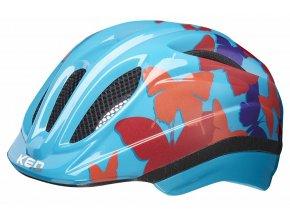 154868 prilba ked meggy trend s m butterfly blue 49 55 cm