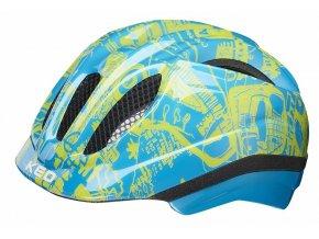 152666 prilba ked meggy trend xs blue yellow 44 49 cm