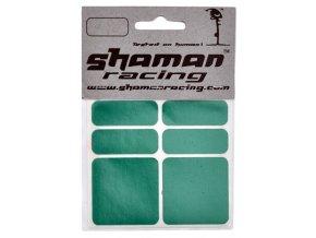145409 samolepka shaman reflexni zelena