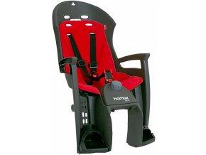 147326 3 sedacka zadni hamax siesta plus sedo cervena uchyceni na nosic