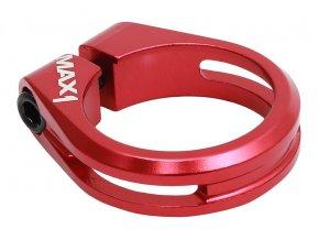 150569 sedlova objimka max1 performance 34 9 mm imbus cervena