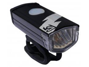 149015 svetlo predni rock machine flash 200lm cerne