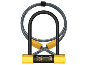 150200 zamek onguard bulldog podkova 90x140x13 mm lanko 1200x10 mm
