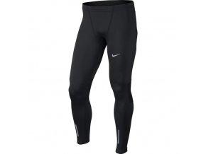 Pánské běžecké kalhoty Nike tight černá (velikost: M)