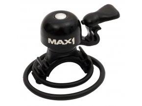153209 zvonek max1 micro cerny