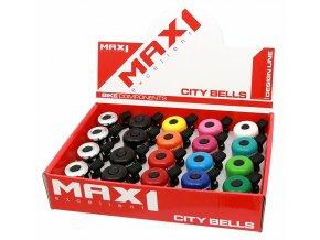 155915 zvonek max1 mini set 20ks mix barev