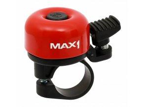 146045 1 zvonek max1 mini cerveny