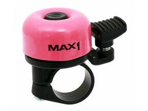 147962 1 zvonek max1 mini ruzovy