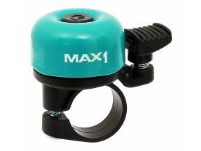 146036 1 zvonek max1 mini tyrkysovy