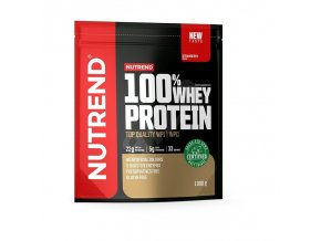 nutrend 100 whey protein 900g jahoda ien354874