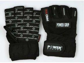 POWER SYSTEM  power grip Fitness rukavice (velikost L)