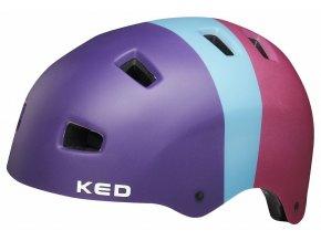158276 prilba ked 5forty m 3 colors retro rave 54 58 cm