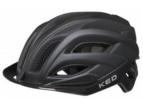 158048 prilba ked champion visor m process black matt 52 57 cm