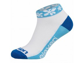 161852 ponozky eleven luca flover blue vel 5 7 m sv modre bile modre