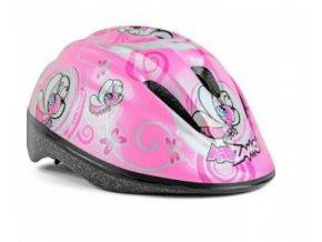 Kidzamo lucile 168  Dětská helma (obvod hlavy v cm 46-53)