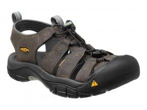 Sandále Keen Newport H2 neutral gray/ gargoyle (velikost obuvi 42)