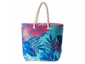 171729 aquawave marimo blue palms print