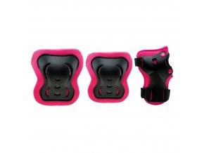 Coolslide Guardiano fandango pink/ black  Sada chráničů (velikost L)