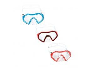 Juniorské  Potapěčské Brýle Bestway lil Sparkling sea (barvy červená)