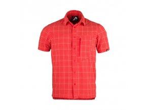 Northfinder Blordy KO-3202 červená Pánská košile (velikost L)