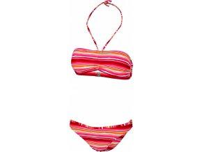 Dámské plavky Stuf Nikki Bikiny červená/bílá/černá (velikost: 36)