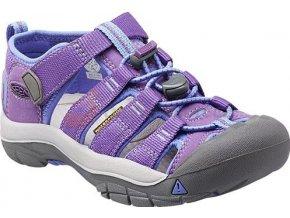 Dětské sandále Keen Newport H2 Jr purple heart/periwinkle (velikost Keen EU 29)