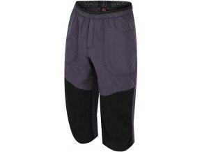 Pánské 3/4 šortky Hannah Hug graphite/stretch limo (velikost: L)