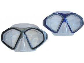 Brýle potapěčské Thema senior tvrzené modré