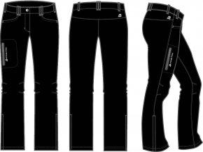 Dámské soft. kalhoty Alpine pro Jole LPAK062990 (velikost: 36)
