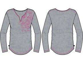 Dámské triko Alpine pro Tiana LTSK226775PA (velikost: L)