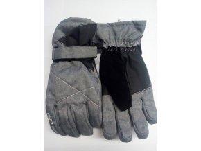 Hannah Pammy cloudburst mel / anthracite Dámské rukavice (velikost: L)
