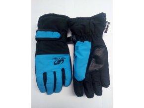 Juniorské rukavice Hannah Mojo JR Dresden blue / anthracite (velikost: 5.VI)