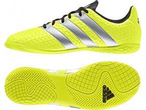 Juniorská sálová obuv Adidas Ace 16.4 IN BA8608 (velikost: 28)