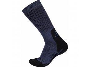 Ponožky  Husky  All Wool modrá (velikost: 36 - 40)