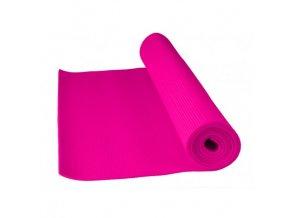 83091 cvicebni podlozka fitnes yoga mat power system ruzova barva