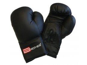 Boxerské rukavice Brother černá  PU Kůže (velikost: L)