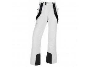 Dámské lyžařské kalhoty  Kilpi Elare-W bílá (velikost: 44)