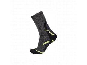 Ponožky  Husky  Treking new tmavě zelená (velikost: 45 - 48)