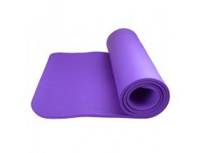 83787 cvicebni podlozka power system yoga mat plus fialova