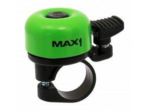 87717 1 zvonek max1 mini svetle zeleny