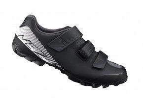 Cyklistická obuv Shimano MTB ME200L černá/bílá (velikost obuvi 44)